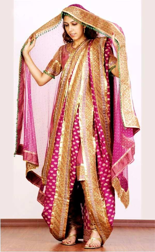 Beautiful Khada Dupatta Designs For Bridal