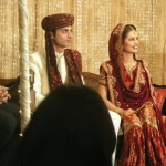 Fawad Afzal Khan and his wife