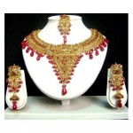 Golden Jewellery Jodha Akbar Design