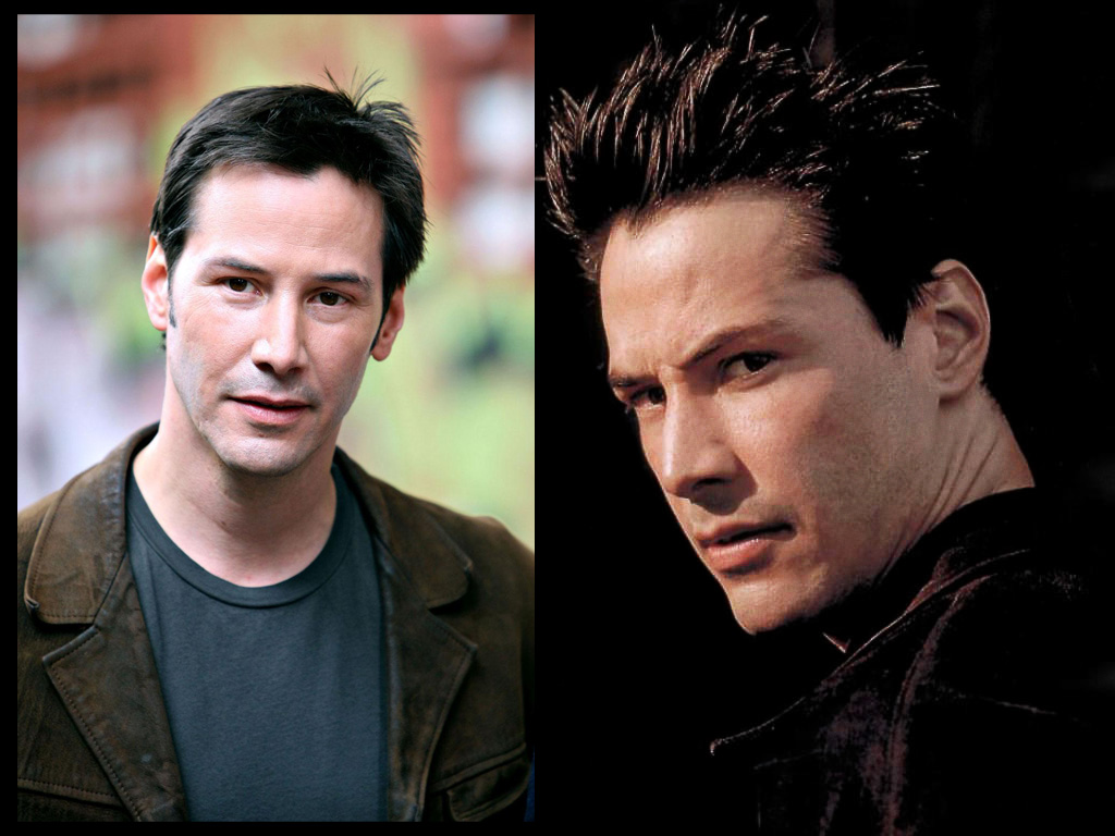 Keanu Reeves of The Matrix series