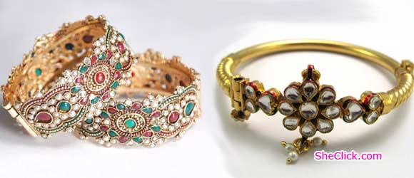 Kundan Bangles Jewellery - Kundan Bangles Jewellery and Most Wanted Designs