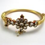 Kundan Jewelry Bangles 150x150 - Kundan Bangles Jewellery and Most Wanted Designs