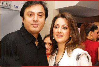 Nauman Ijaz with Wife Rabia