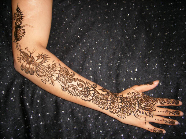 Full Arm Mehndi Designs : Mehndi design on full arms u2013 7 creative concepts sheclick.com