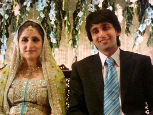 Sami Khan and Sara Chaudry Wedding Pic