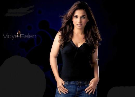 Handsome Prabhas In Black Shirt And Goggle Hd Wallpaper: Vidya Balan Indian Actress And Model: 22 Top Selected