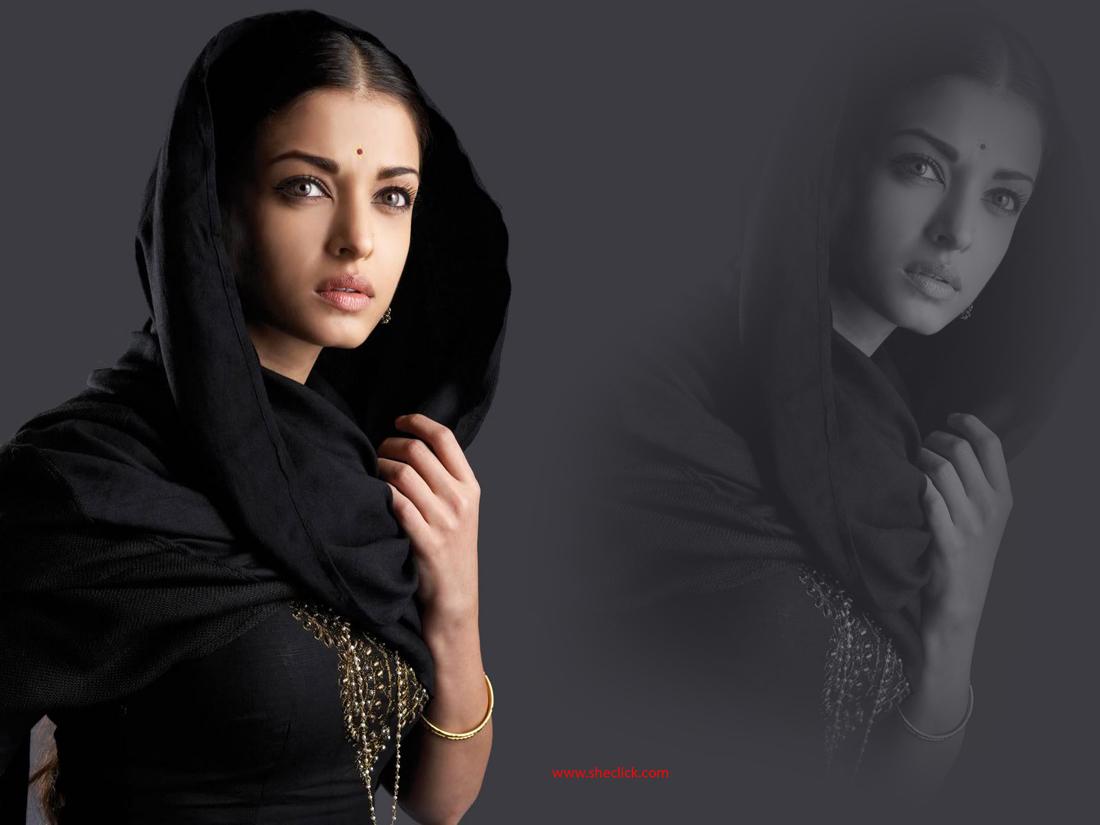 Aishwarya Rai Black Shalwar Kameez Sheclick Com