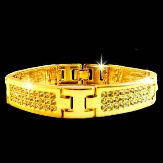 New Home Designs Latest October 2011: Beautiful Gold Bracelet Gift For Men