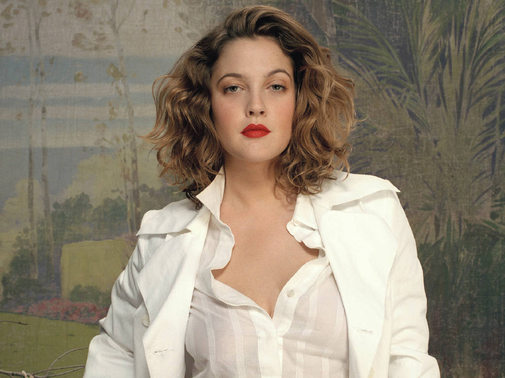 Drew Barrymore Hot Romantic Celebrity
