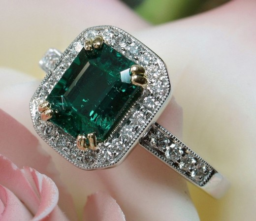 Gorgeous Gemstone Ring Jewelry Fashion for Girls 520x449 - Absolute Gemstone Jewelry Designs For Girls