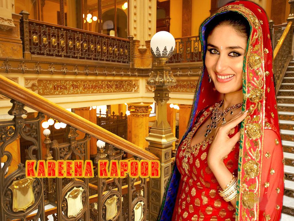 Kareena Kapoor Bridal Wedding Dress Photo - SheClick.com