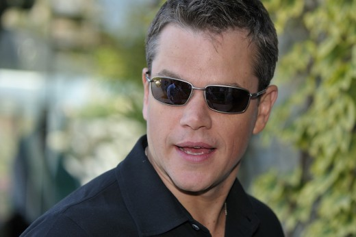 matt damon fat. Matt Damon Wears Sunglasses at