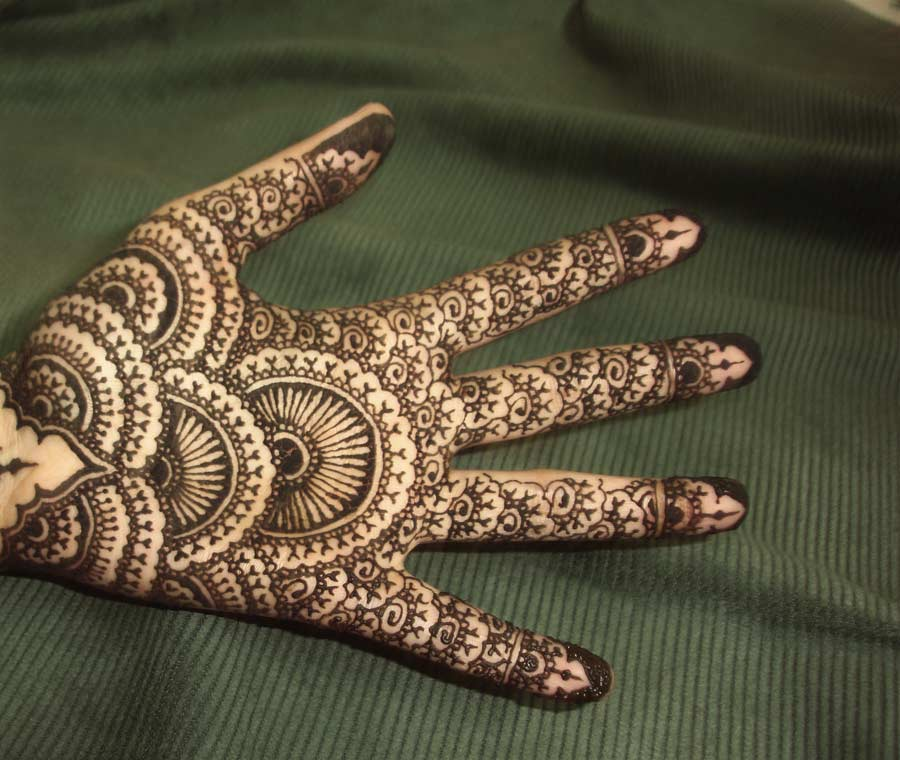 Mehndi Design On Full Hand For Eid Sheclick Com