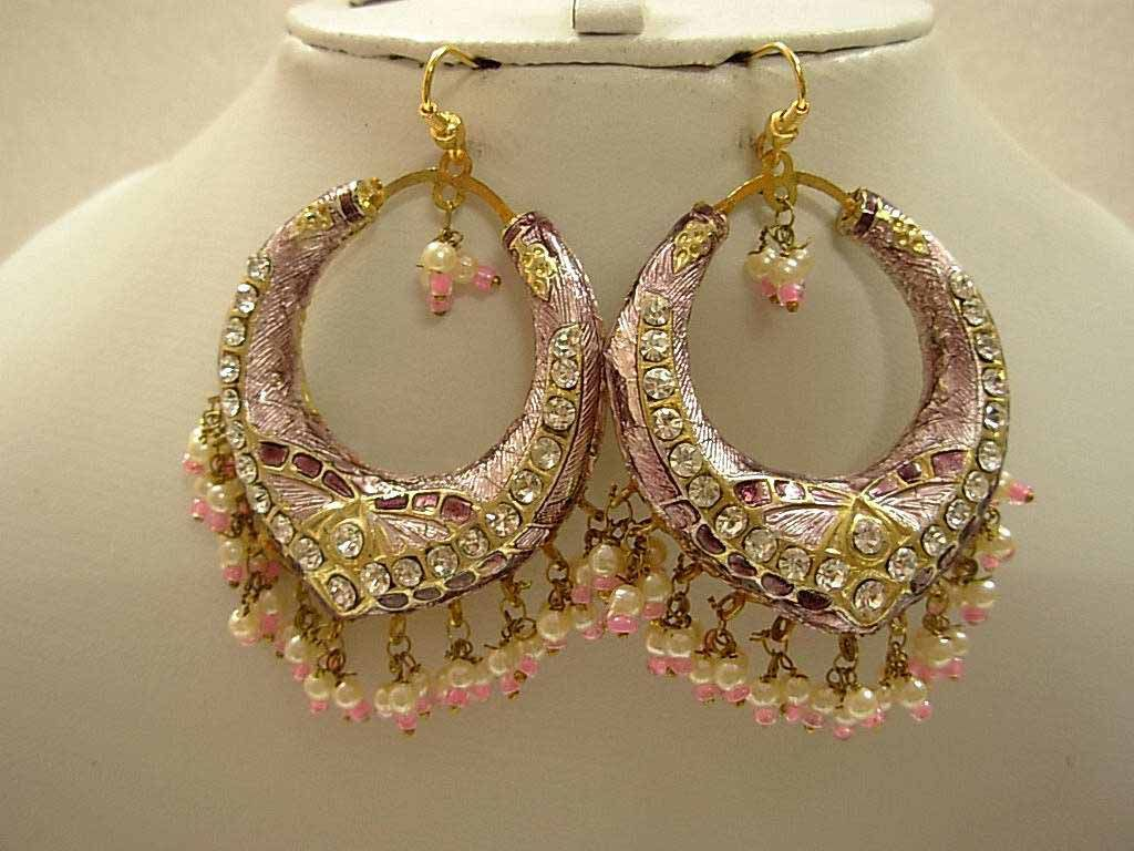 Pink-New-Lakh-Earrings-Jewelry-Design-fo