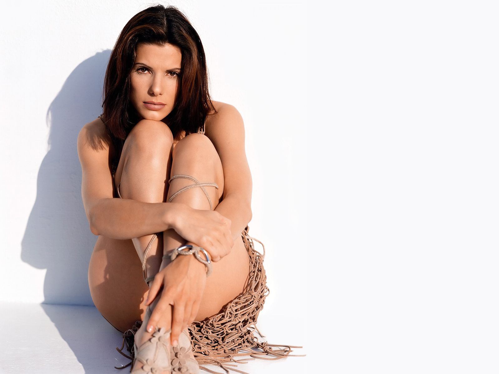 Sandra Bullock Bikini Fashio Shoot Photo Sheclick Com