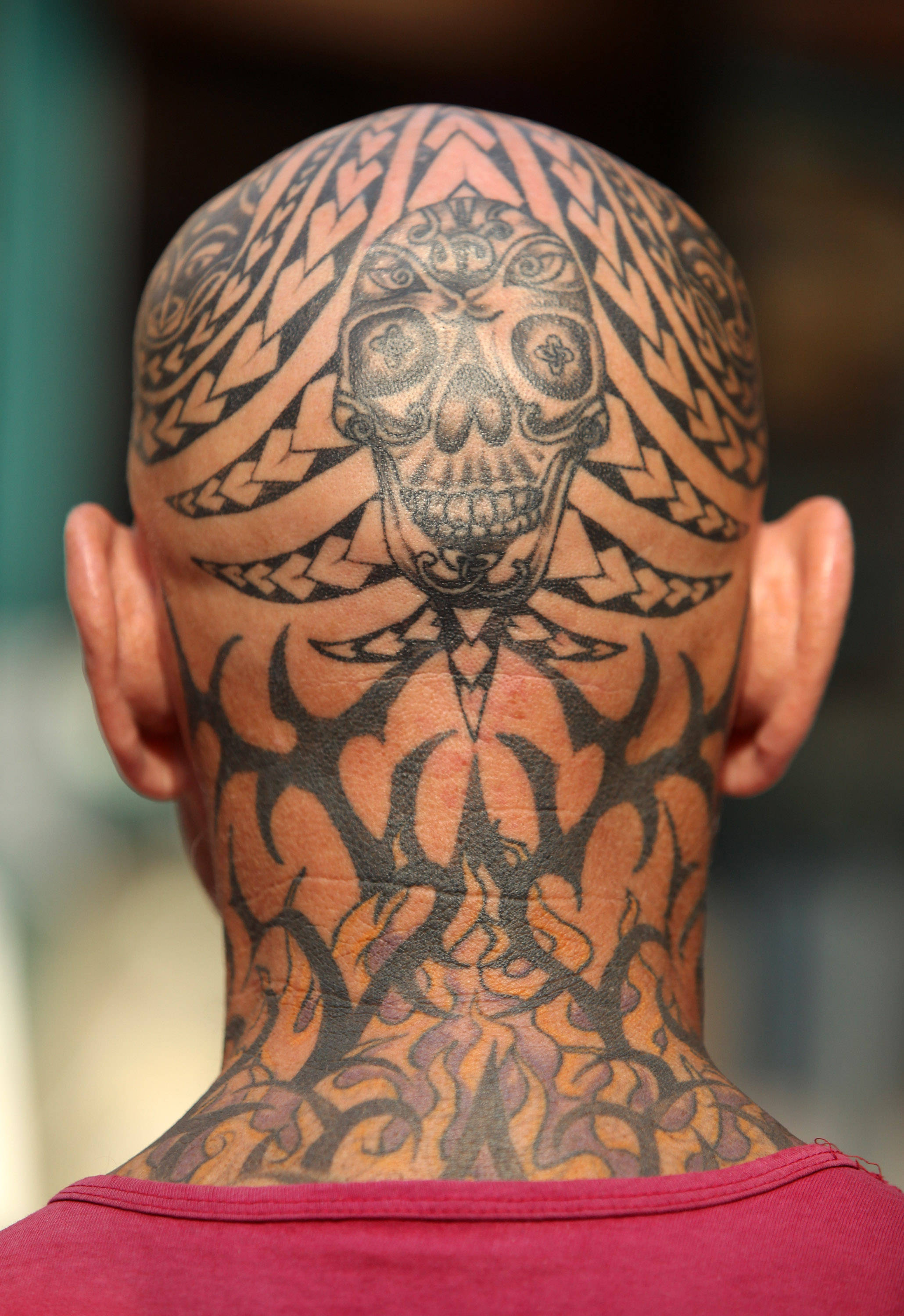 Best Head Tattoo Design For Men