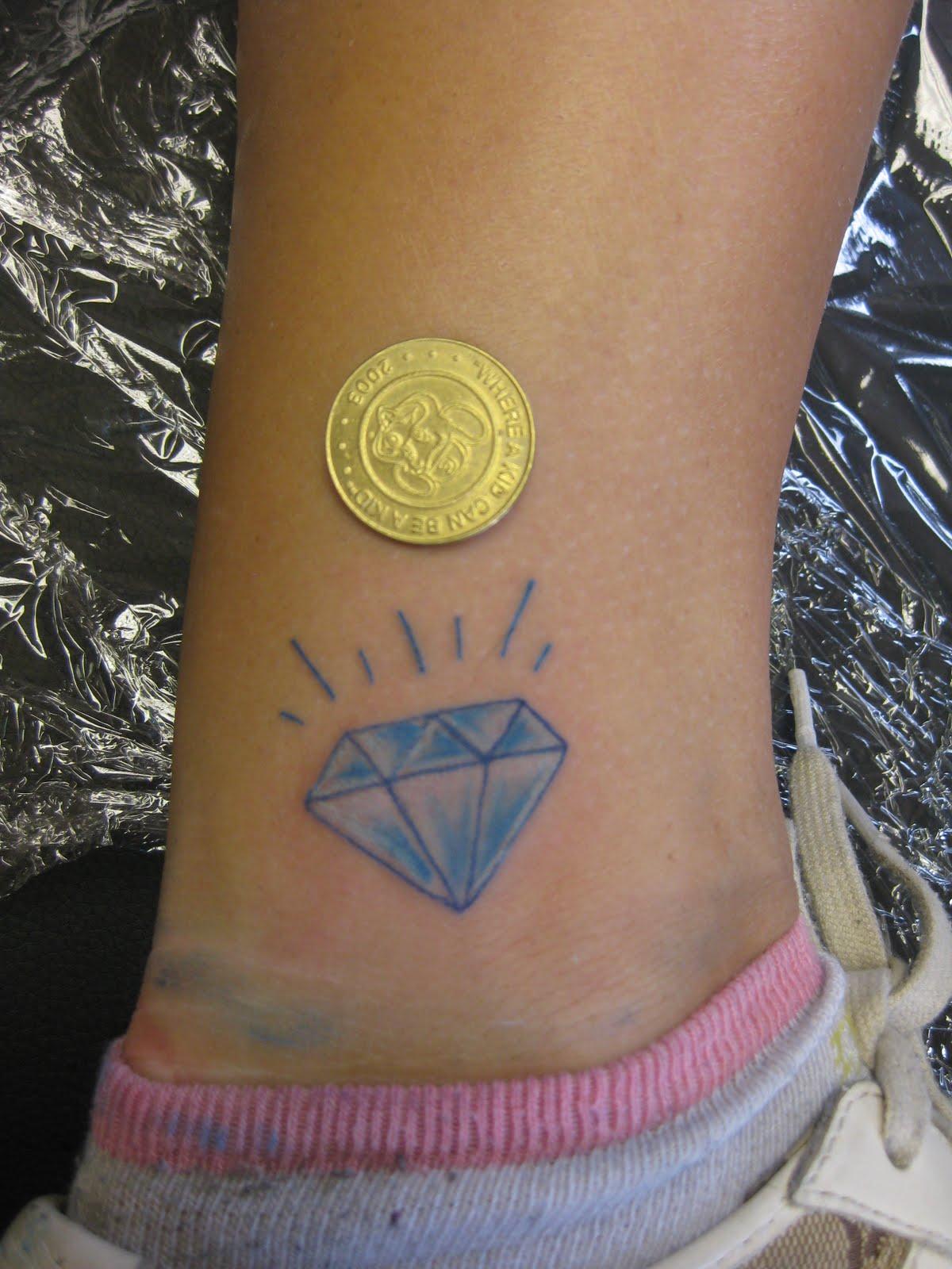 Diamond Tattoo Design Trend For Indian Girls Sheclick Com