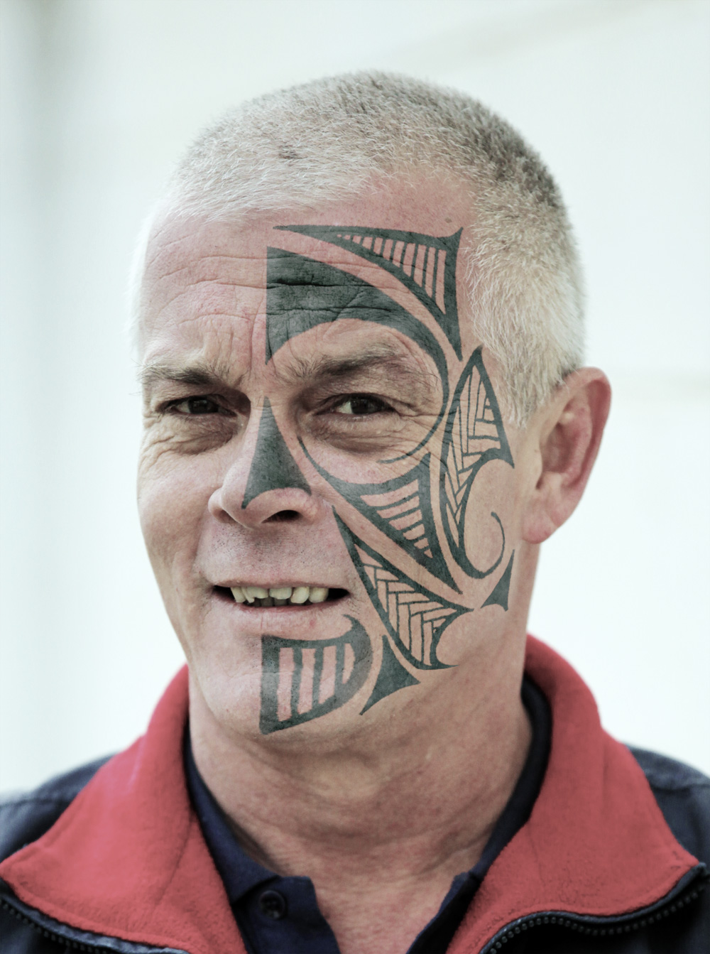 New Face Tattoo Design For Old Men Sheclick Com