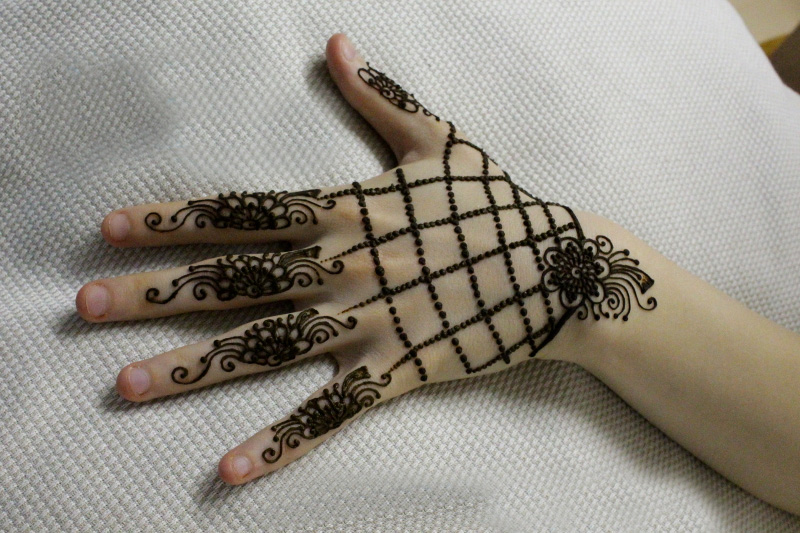 indian hand mehndi designs