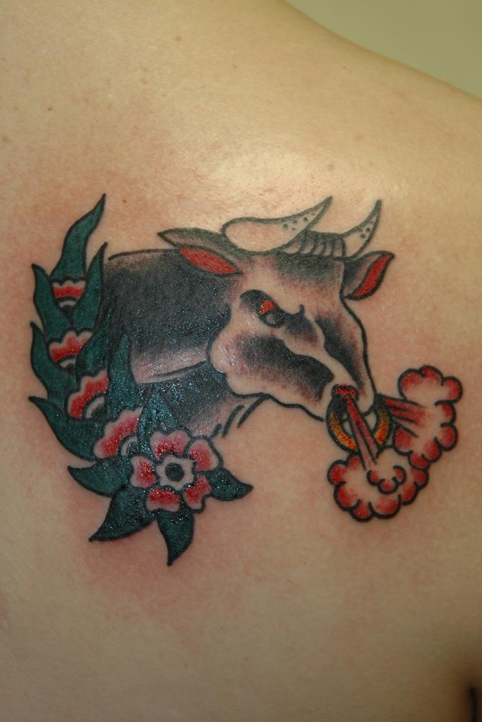 Best Bull Tattoo Design Sheclick Com