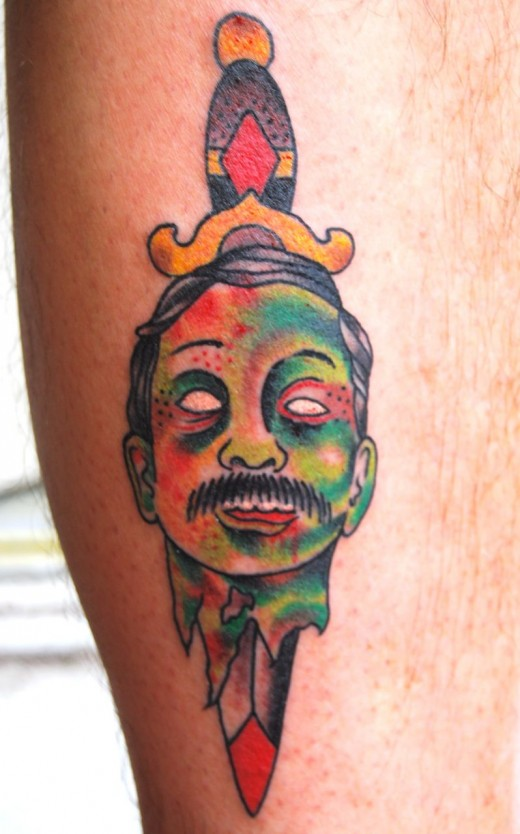 fantastic zombie tattoo designs for 2011 sheclick