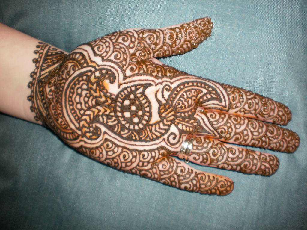 Indian Mehndi Design for Women