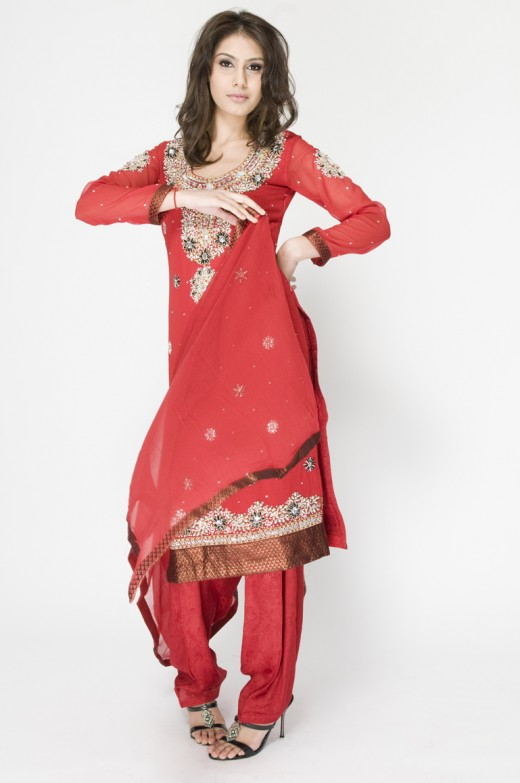 Long Kameez With Trouser for Bridal