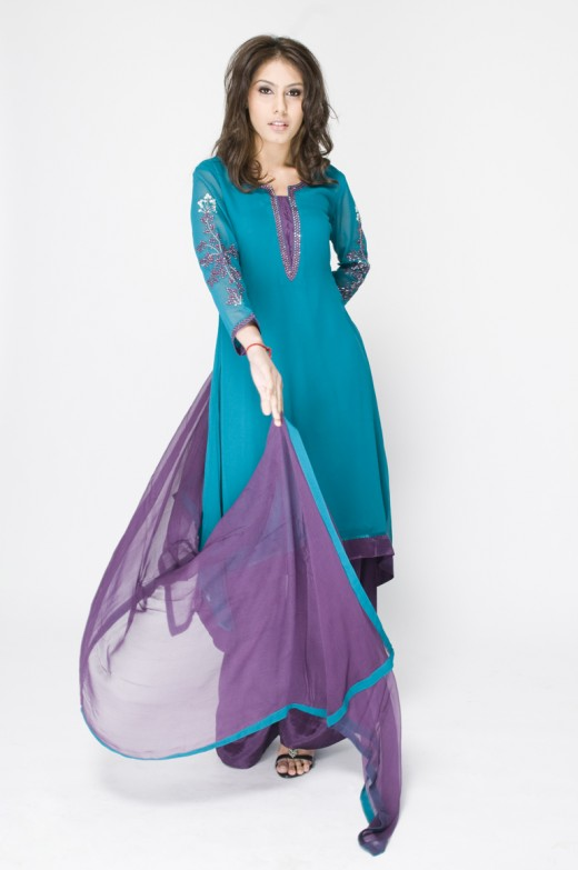 Long Kameez With Trouser for Female