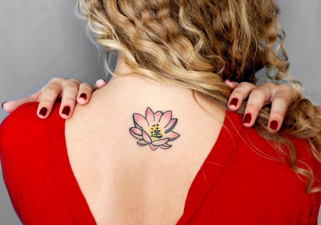 Lotus Flower Tattoo Latest Style