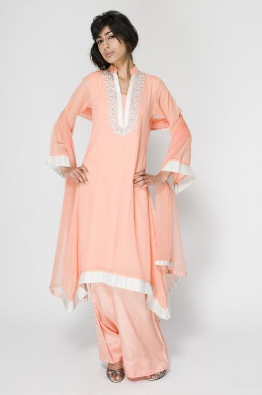 New Long Kameez With Trouser for 2011