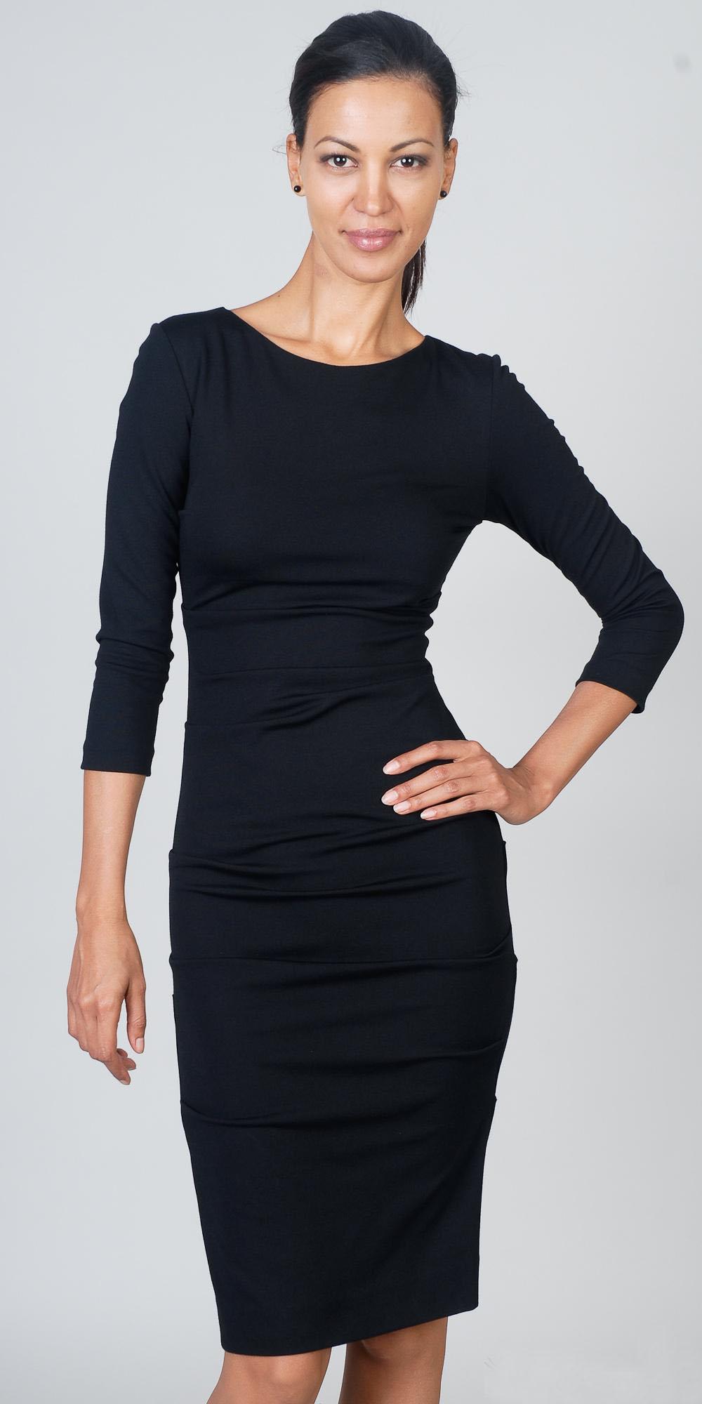 Купить красивое классическое платье 3
