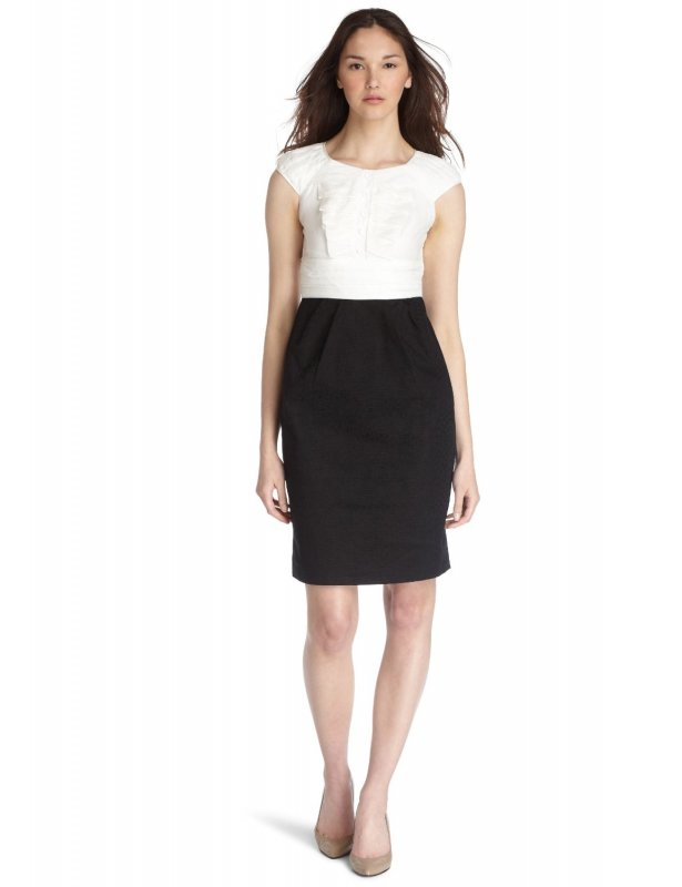 Types Of Mattresses >> Cute Black and White Dress for Working Girls - SheClick.com
