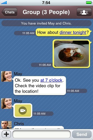 how to use kakaotalk on iphone