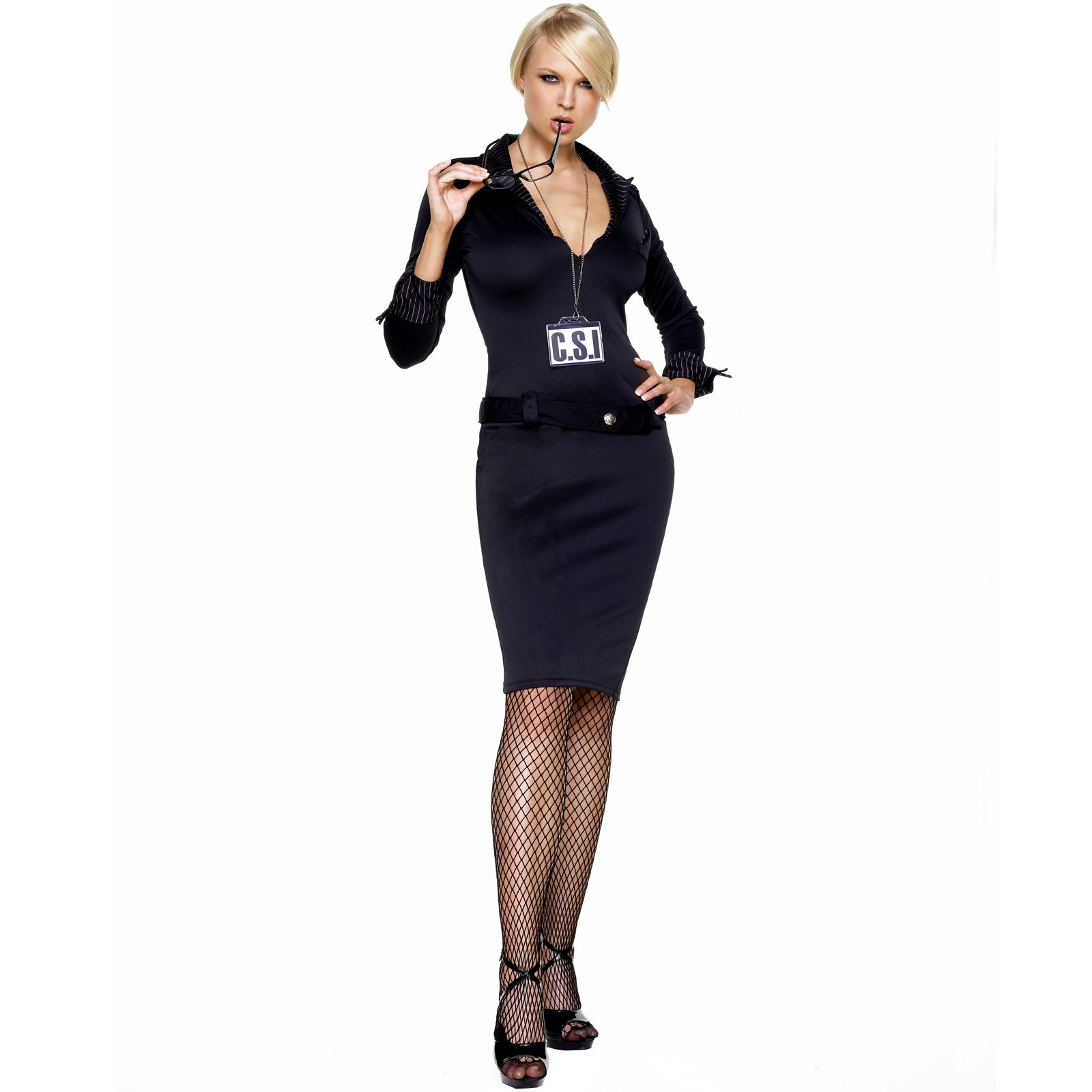 Office worker Sabrina Moore posing fully clothed in business outfit  234752