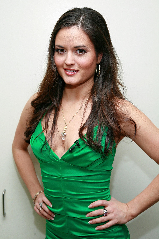 Danica Mckellar In Green Dress Sheclick Com