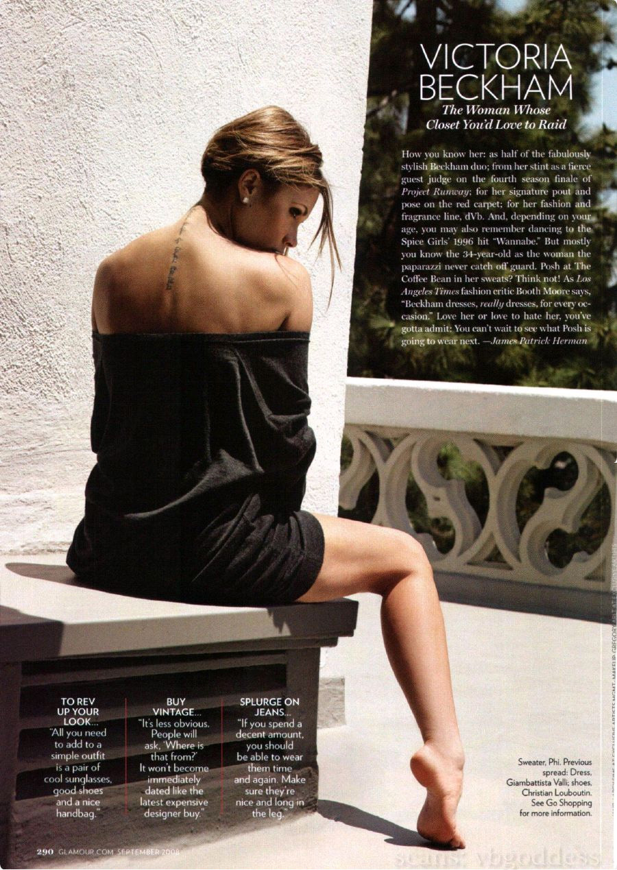Victoria Beckham Hot Photoshoot Sheclick Com