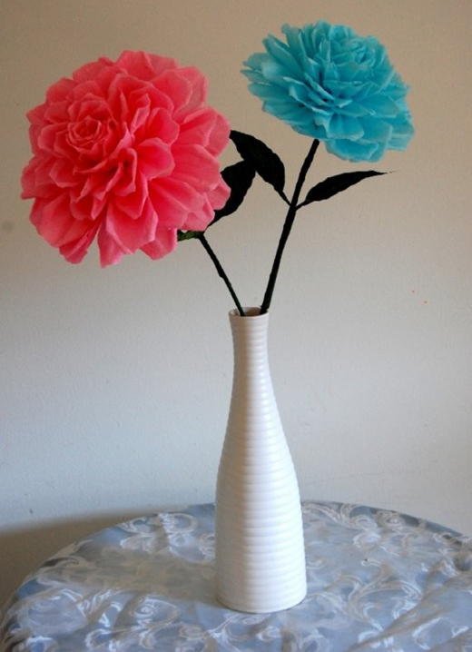 Unique Handmade Paper Flowers Creation Sheclick Com