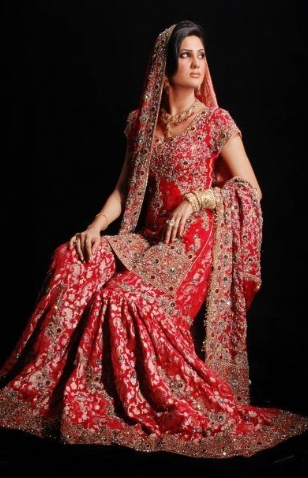exclusive bridal sharara dresses for wedding