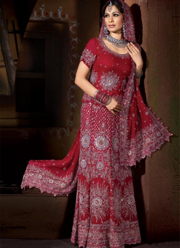 Beautiful Pakistani Bridal Sharara Dresses