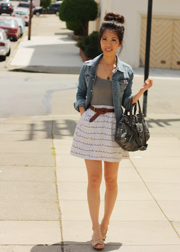 Trendy Summer Skirts Outfits For Ladies 2012 Sheclick Com