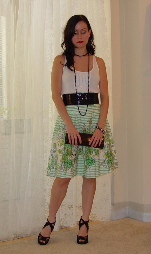 Trendy Summer Skirts Outfits For Ladies 2012
