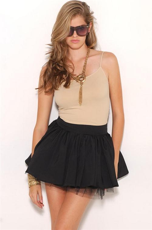 Sexy mini skirt girl variant