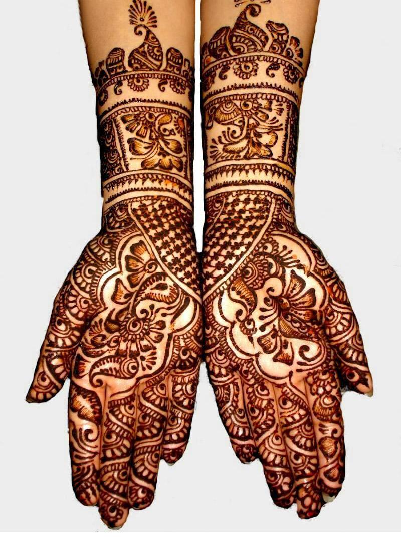 Mehndi For Thin Hands : Most beautiful bridal mehndi designs sheclick