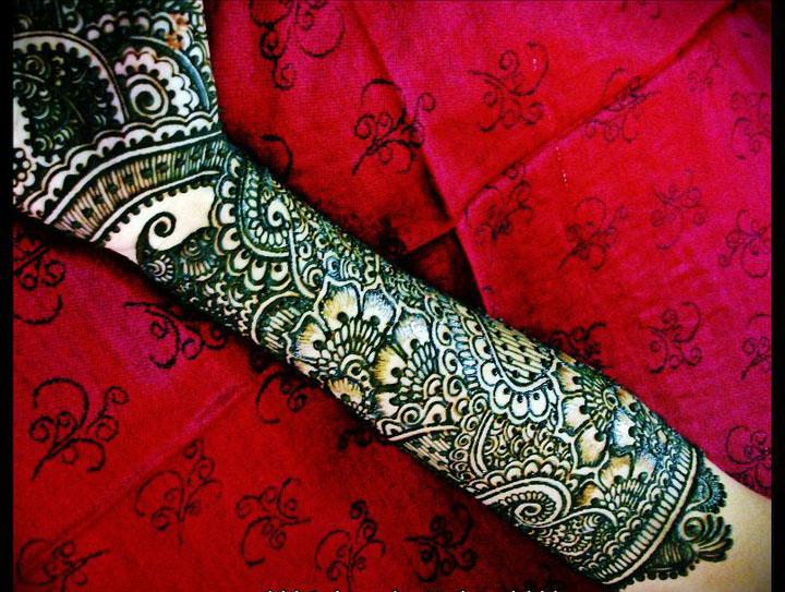 Bridal Mehndi New Latest Design : Most beautiful bridal mehndi designs sheclick