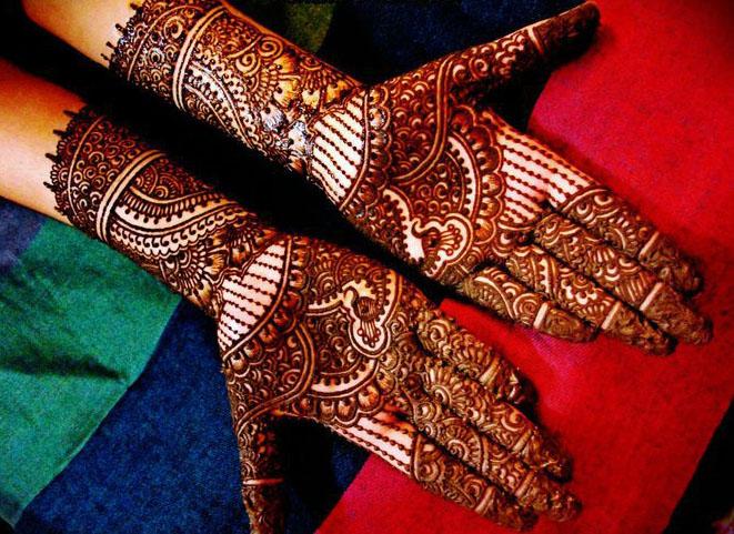 Mehndi Hands Designs : Most beautiful bridal mehndi designs sheclick