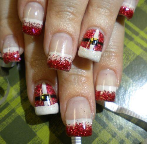 15 Delightful Christmas Nail Art Designs 2012 Sheclick