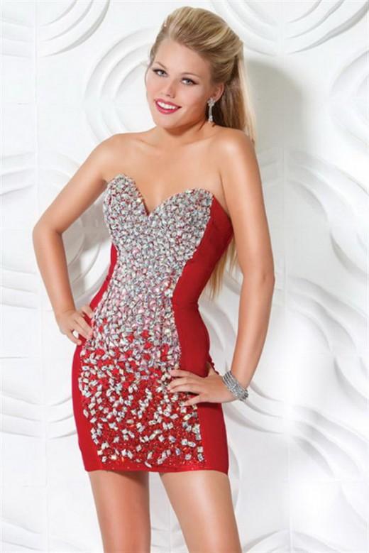 Короткое платье на новый год фото