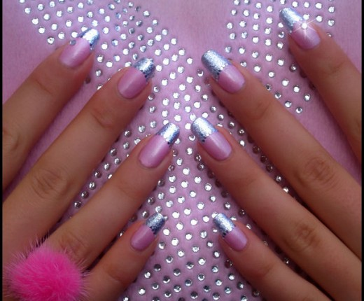 20 Gorgeous Foil Nail Art Ideas 2013 Sheclick Com