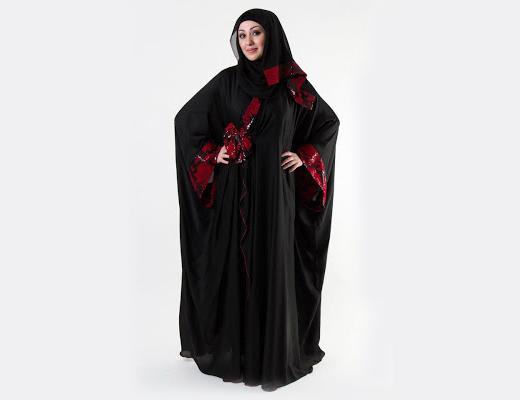 15 Latest Arabian Style Abayas 2018 Sheclick Com