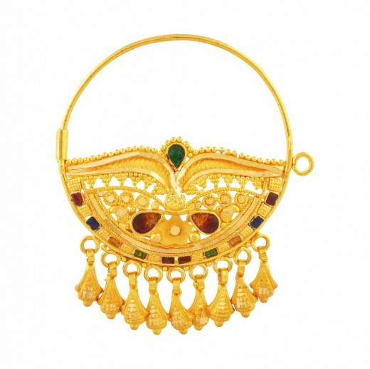 Beautiful Bridal Gold Nose Rings Collection